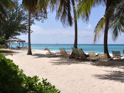 Grand Cayman condo rental - Grab a book to read...just relax...or maybe sneak a snooze in the shade!