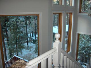 Nemo cabin photo - view from upper floor to outside