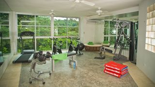 Manuel Antonio villa photo - Universal gym with tredmill