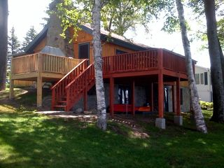 Burt Lake cabin photo - Cabin North West Side Lake