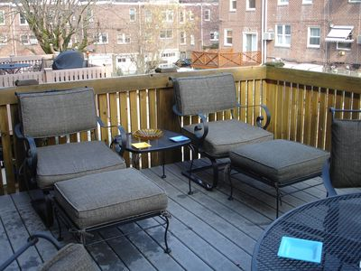 Sun Deck Rear Patio