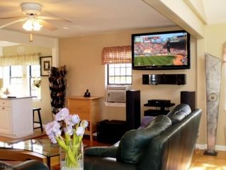 "Hyannis - Hyannisport house photo - Salty Shack Great Room With 50"" Plasma Hi-Def TV"
