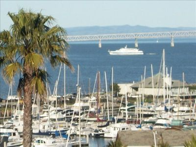 View of Marina & Bridge from House. View extends all the way to paradise cove.
