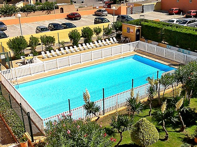 Appartement in gruissan narbonne en omgeving 4 personen for Union piscine narbonne