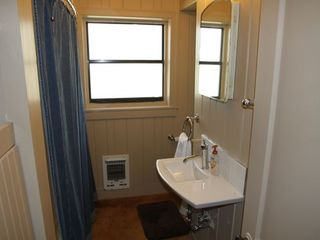 Guest bathroom with bath/shower. - Wimberley house vacation rental photo