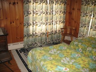 Lake Placid house photo - bedroom 2, sleeps two