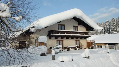 Haus Zellner Inzell - Winter 12.12.2012