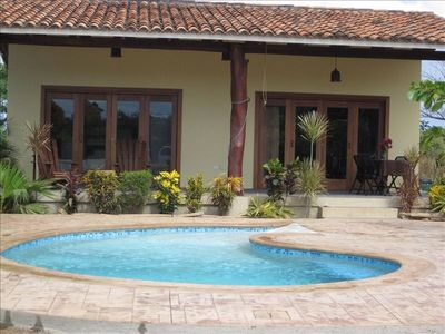 'Casa Las Olas', House with Private Pool Nr Surf Beach.