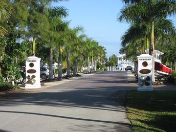 Entrance to Sanibel Marina, just across the street!