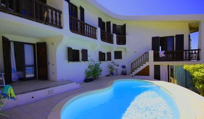 Huge detached villa (14 pers.) On the seafront with direct pool Meerzugan