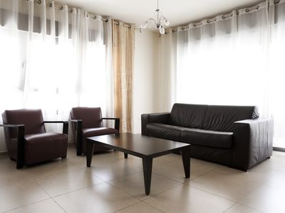 Tel Aviv apartment rental - Suite-Sunrise - Living room