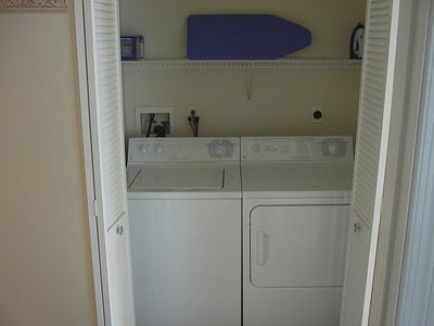 2nd FL right side hall washer/dryer