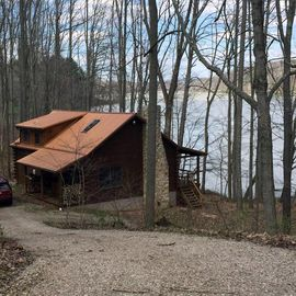 Hocking Hills cabin rental