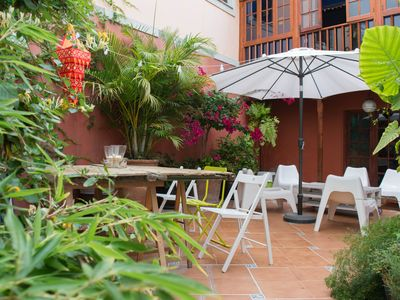 SAN ROQUE HOUSE - Apartment with Patio (easy to park)