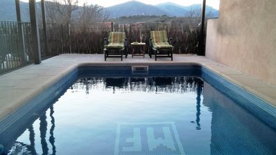 House with 2 bedrooms in Navas de Estena, with wonderful mountain view, private pool, furnished terrace