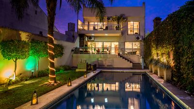 Amazing House With Swimming Pool In A Residential Area Close To Dot Baires Mall