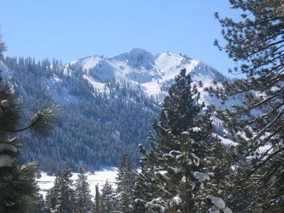View of Squaw Valley from the deck