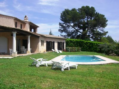 Rent one or two independent rooms in Provencal villa with pool