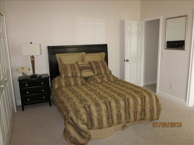 Bedroom 2 with large wardrobe, Jack n Jill bathroom, flat screen TV