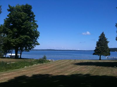 Mullett Lake cottage rental - Beautiful sunny day!