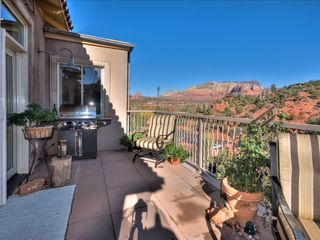 Sedona villa photo - Stainless Steel BBQ on the Spacious, Private & Secure Deck