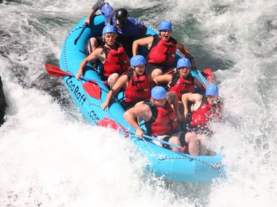 White water rafting in White Salmon is just 90 minutes away!