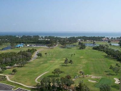 Championship Golf at the Seascape Course in the Resort