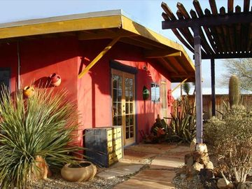 Joshua Tree house rental - A Work of Art Inside and Out