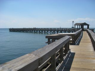 Cape Charles cottage photo - Fishing pier