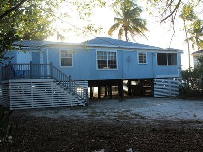 Front of Banyan Beach House