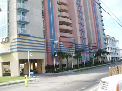 Cherry Grove Beach condo rental - Front of Condo Building