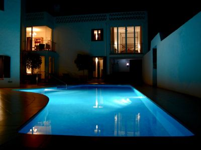 Enchanting secluded Villa, pool, spa, sauna, 500m to Med, walk to beach