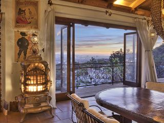 West Hollywood house photo - Dining Room View