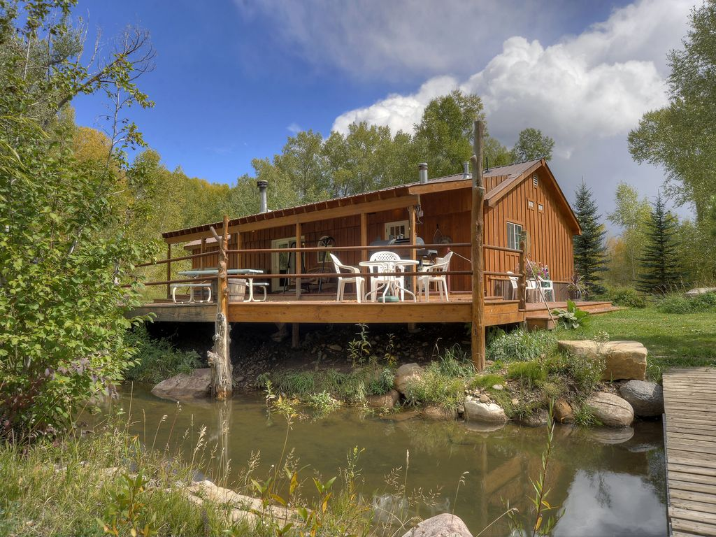 durango colorado riverside cabin waterfront vrbo
