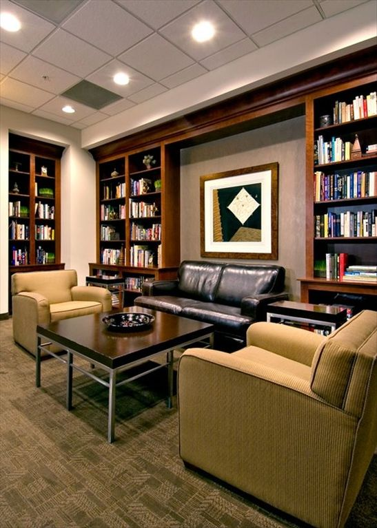 Library on the Amenities Floor