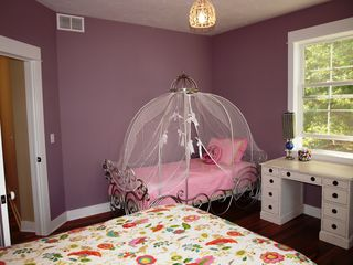 Montague house photo - Guest Room 2nd floor. A princess bed for the princess and another full size bed