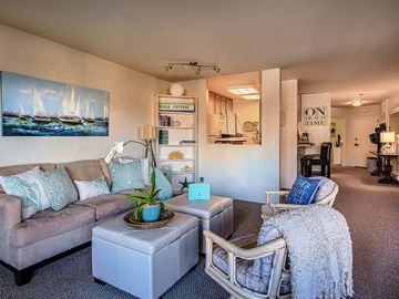 """Monterey condo rental - Welcome to """"Baylights-by-the-Sea""""! Located on beautiful Monterey Beach."""