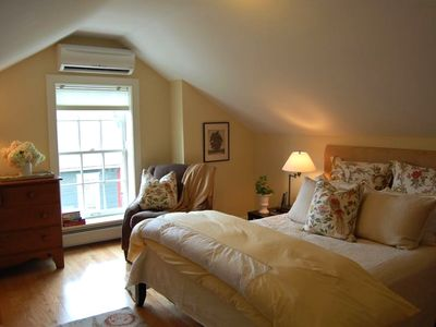 One of two charming bedrooms with HDTV and DVR