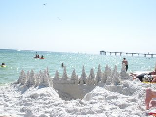Fort Walton Beach condo photo - Beautiful sand