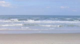 Cape Canaveral condo rental - Wide, soft, white sandy beach.