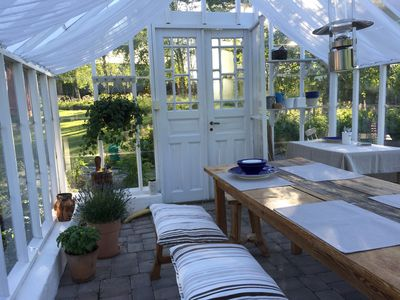 Romantic cottage with greenhouse near Isaberg!