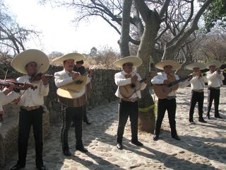Tepoztlan estate photo - Welcome by the mariachis