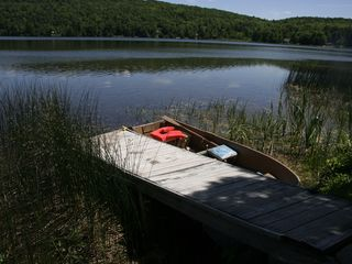Cedar Lake cottage photo - Rowboat & fishing poles included - just bring a desire to relax!