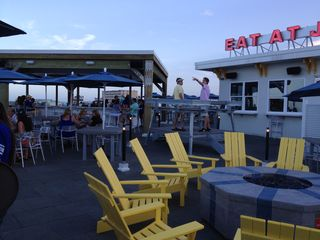 Daytona Beach house photo - The top deck bar at Joe's Crab Shack, on the Daytona pier.
