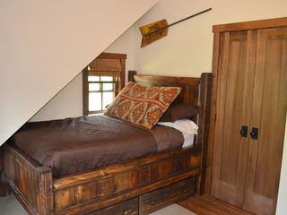 Georgetown Lake house photo - Forest view bedroom (double bed).