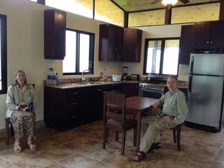 Dominical house photo - Relax in the kitchen/dining area.