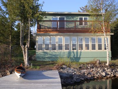 Waterfront 2 Br Cottage In Copper Harbor With Private Dock