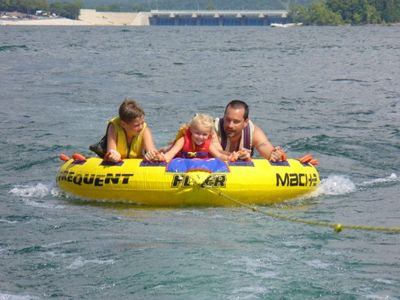 Tablerock Lake and boating fun is just minutes away