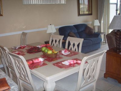 Sunset Lakes villa rental - Dining Area
