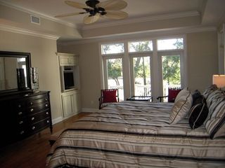 Kiawah Island house photo - First floor master bedroom